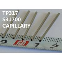 TP317 / S31700 Special Alloys Capillary 0.25 - 8.0mm OD For Horological Industry Manufactures