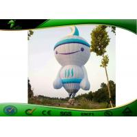 0.18mm PVC Giant Cartoon Floating Helium Advertising Balloons Inflatable Manufactures