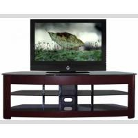 China 60 Inch TV Media Stand Dark Solid Wood Large Loading Capacity 1500w*505d*680h , TV Stand , Wood TV Rack on sale