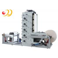 China 4 Colour Flexo Printing Machine Operator For Waste Rewinding on sale