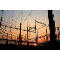 Quality 66 KV Steel Frame Structure Building , Steel Frame Buildings Electric Power for sale