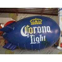 Quality Eye - Catching Inflatable Helium Zeppelin Blue Blimps For Trade Shows for sale