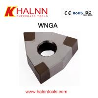 BN-K20 WNGA120408 Solid CBN Turning tool cbn cutter machining Air-conditioning compressor bearing with HT250 Manufactures