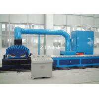 China Mirror Finish Automatic Deburring Machine / Stainless Steel Square Pipe Polishing Machine on sale