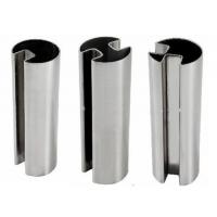 304 316 stainless steel channel tube and pipe for glass railings with mirror or hairline finish Manufactures