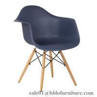 plastic armrest dining chair,eames chairs,solid wood legs chair,pp seat chairs Manufactures