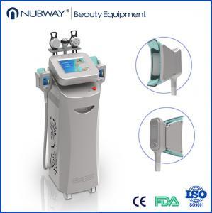 5 handles Cryo rf cavitation handles ABS material -15—5℃ cryolipolysis slimming machine Manufactures