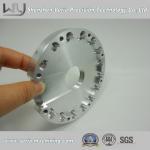 OEM High Precision CNC Aluminum Machining Parts / CNC Machine Part Al6061 HD32 Wire Guide Manufactures