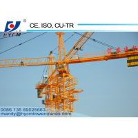 New CE/CU-TR/ISO9001 Certified QTZ100(5020) Building Construction Tower Crane for Sale Manufactures