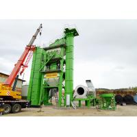 China Green Color Mobile Asphalt Mixing Plant 80t/H Capacity For Highway Construction on sale