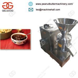 Industrial High Quality Small Stone Chutney Grinder Making Machine/Peanut Butter Machine/Almond Grinding Machine