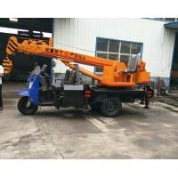 Tricycle Hydraulic Truck Mounted Crane , 3- 5 Ton Lifting Mobile Truck Crane Manufactures