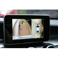 Seamless 360 Degree Car Rearview Camera System ,4 Channel DVR Bird View Parking System Manufactures