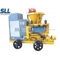 Mix Refractory Concrete Shotcrete Machine 200m Convery Distance Slope Reinforcement Manufactures