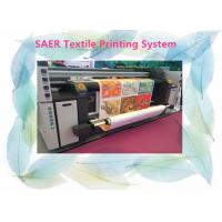 Large Format Fabric Epson Color Printer Automatic 3.5kw Heater Power 12 Month Warranty Manufactures