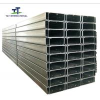 China Roll Forming Structural Steel Channel Solar Mounting Bracket Customizable Design on sale