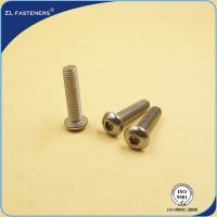 Buy cheap Stainless Steel 304 316 Full Thread Socket Button Head Cap Screws ISO 7380 from wholesalers