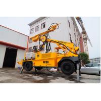 Hydraulic Control Cement Sprayer Machine , Shotcreting Machine With Robot Arm Manufactures