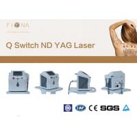 China Clinical Use Laser  Tattoo Removal Machine 6 * 140mm Lamp Size 1320nm on sale