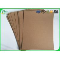 Virgin Pulp Kraft Liner Paper 250gsm 300gsm 350gsm For Carton Box / Packaging Manufactures