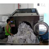 China Forward Tilt Automatic Unloading Industrial Washing Machine on sale