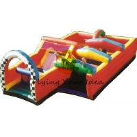 12*6*4m Reusable Inflatable Obstacle Courses For Advertising Manufactures