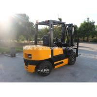 Yellow Color 3T Industrial Forklift Truck Flexible Operation With Toolbox Manufactures