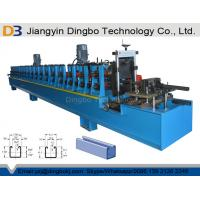 C Shaped Steel Strut Channel Metal Roll Forming Machine For 41x41 & 41x21 Strut Sections