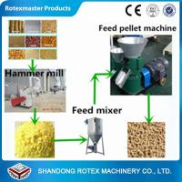 Small Scale Poultry Feed Small Pellet Mill Animal Feed Pellet Production Line Manufactures
