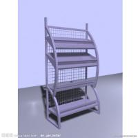 Portable Steel Metal Newspaper / Magazine Racks For Home 10-30kgs / Layer Manufactures