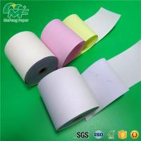 China Laser Printers NCR Carbonless Carbon Paper Roll For POS Printers / Invoices on sale