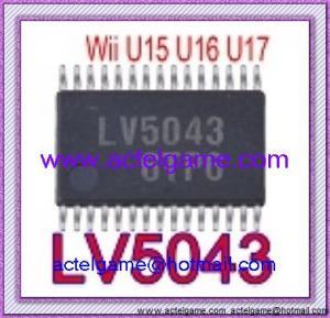 Wii U15 U16 U17 Sanyo LV5043 DC-DC Converter controller SSOP-30Nintendo Wii repair parts Manufactures