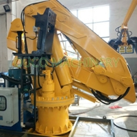 CCS Fully Foldable Marine Knuckle Boom Crane With Advance Components Manufactures
