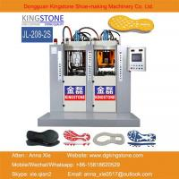 Static 1/2 Color TPU/TR/PVC/TPR Shoe Sole Injection Moulding Machine Manufactures