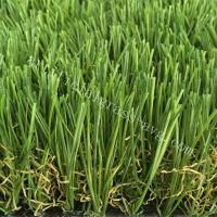 Kindergarden Outdoor Artificial Grass With Soft Formula And Small Film Thickness Manufactures