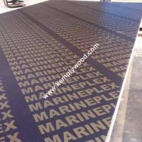 Film faced plywood poplar core WBP glue, shuttering plywood 18mm, film faced plywood with brand name Manufactures