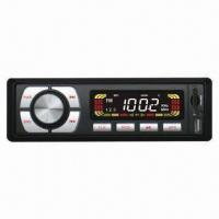 China Car MP3 Player with FM Radio, SD, MMC, USB/MP3 Slots and Rotary Volume Adjuster on sale