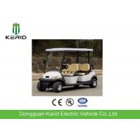 CE Certificate Fuel Type Electric Golf Carts White Model 4 Passengers Cheap Golf Buggy For Sale Manufactures