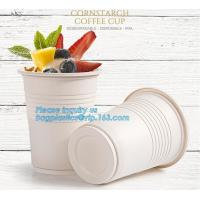 China New products cornstarch plastic 12oz nature biodegradable drinking cup,Disposable cups plastic biodegradable cups PLA pa on sale