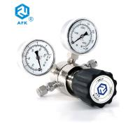 Single Stage Pressure Gauge Stainless Steel For Laboratory / Instrumentation Manufactures