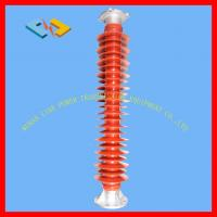 China Durable 126kV Polymer Station Post Insulators 20kN With Rod Φ90mm And Flange on sale