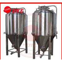 7BBL Conical Beer Fermenter , Conical Stainless Steel Fermenter Manufactures