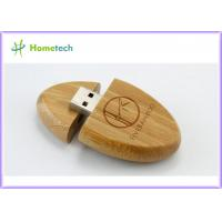China High speed oem Wooden / Bamboo USB drive Usb 2.0 memory stick for Office on sale
