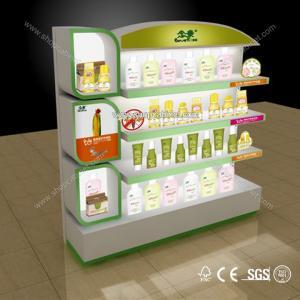 acrylic cosmetic display showcase