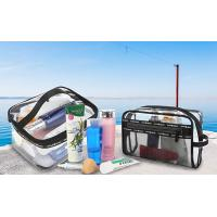 clear toiletry bag
