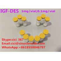 High Purity IGF-Des growth hormone releasing peptide muscle growth peptides Manufactures