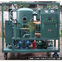 Insulation Oil Purification Systems , Regenerate Deteriorated Transformer Oil Purifier Machine Manufactures