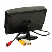 China DC Power Car TFT LCD Monitor 4.3 Inch Desktop AV Input LCD Car Screen With Camera on sale