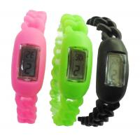 China Water Resistant Silicone Ion Bracelet Sports Watch For Children on sale