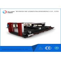 Fiber Metal High Power Laser Cutting Machine For Round Square Steel Tube Pipes Manufactures